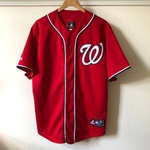 Washington Nationals Bryce Harper Baseball Jersey